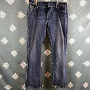 ND Weekend Embellished Bootcut Jeans